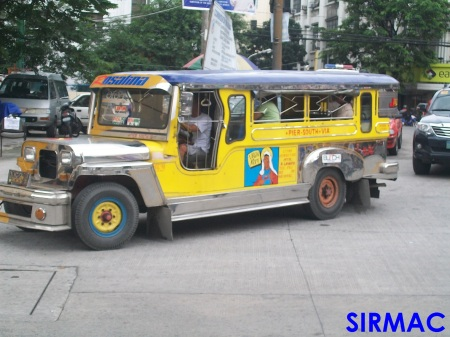 A new comer colorum jeepney. This used to run from Libertad - Pier 15.