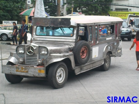 A long-time colorum jeepney.